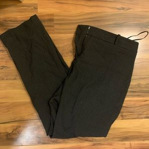 Anne Klein Mid-Rise Director Pants